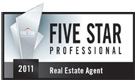 FIVE STAR REAL ESTATE AGENT 2011
